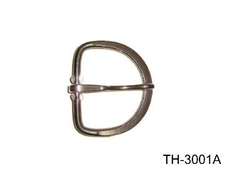 GIRTH BUCKLE, STAINLESS STEEL