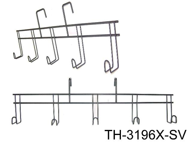 5-HOOK BRIDLE RACK