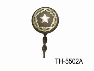 ANTIQUE BROWN KEY CHAIN