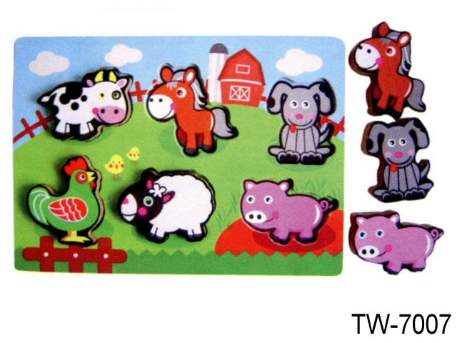 RAIS UP PUZZLE FARM ANIMALS