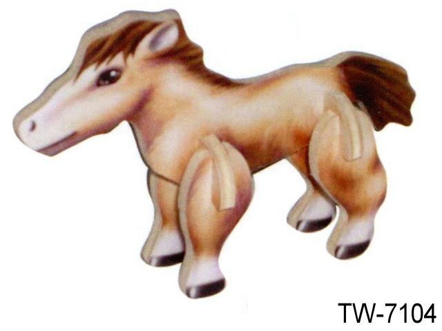 3D MINI CUTE HORSE