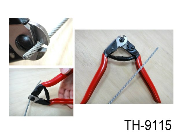 WIRE ROPE & SPRING WIRE CUTTER