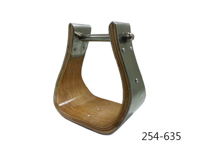 X-WIDE WOOD BELL STIRRUP