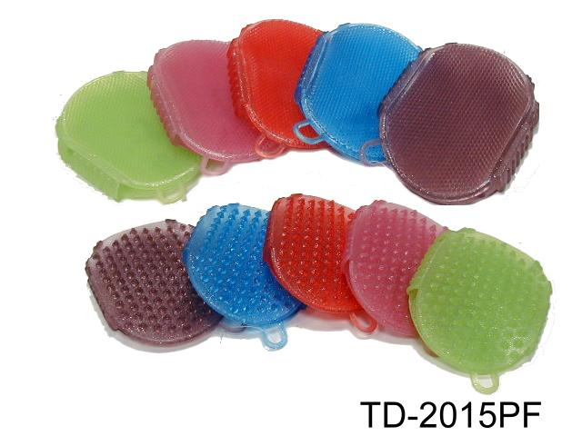TWO SIDES MASSAGE  SCRUBBER COMB