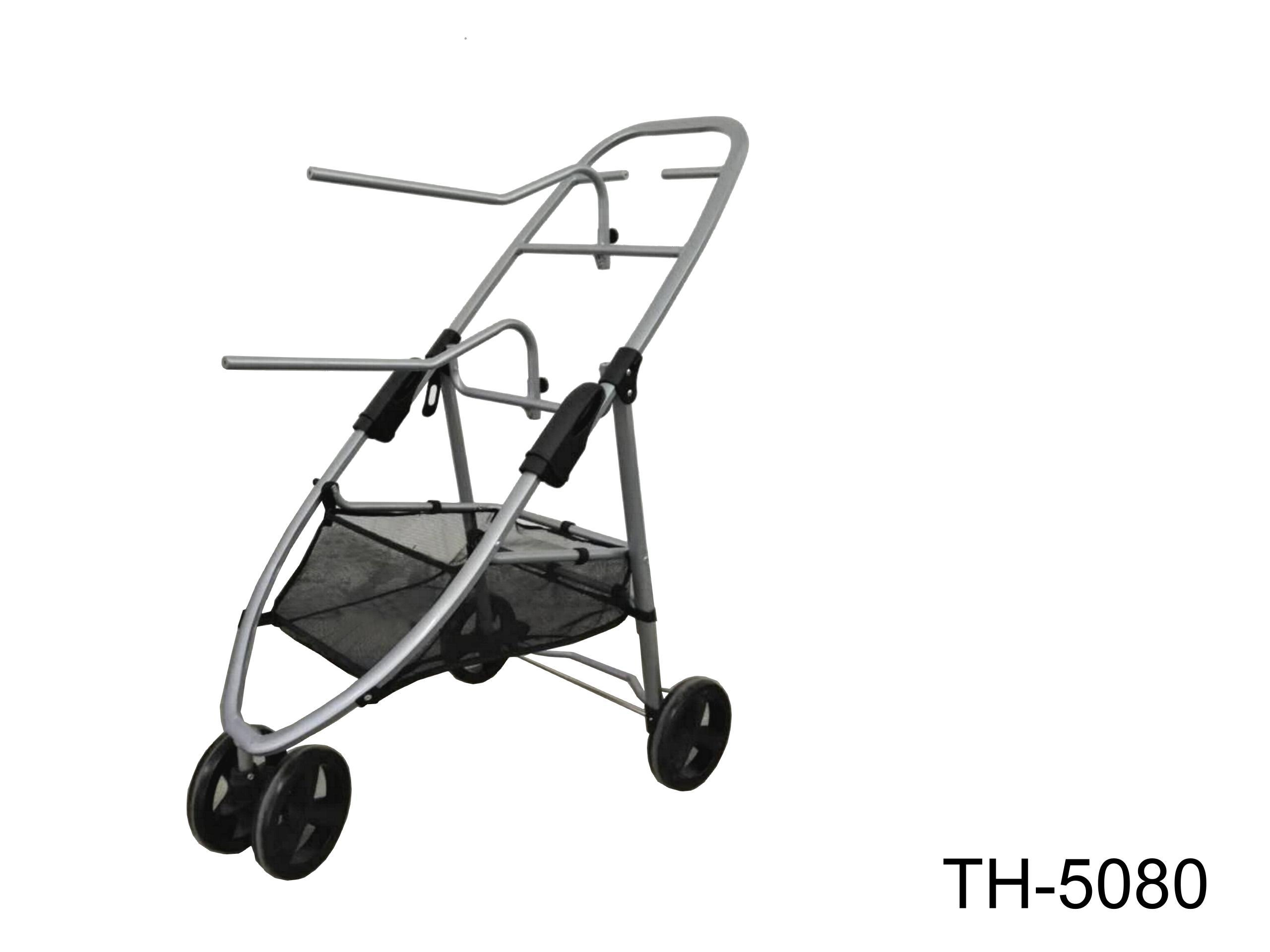 THREE WHEELS FOLDING SADDLE TROLLEY