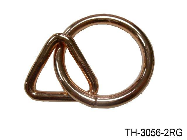 WELDED STEEL RING W/TRIANGLE