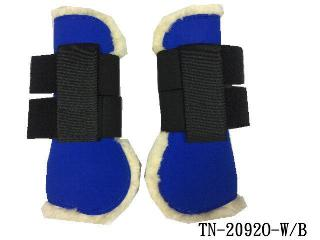 SYNTHETIC SHEEPSKIN JUMPING BOOT