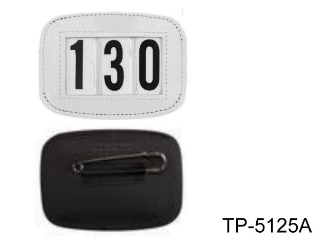 LEATHER BRIDLE NUMBER HOLDERS